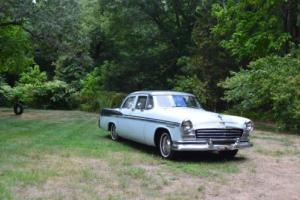 1956 Chrysler Windsor V8 Sedan All Original 301 V8 3-speed Automatic Vintage Photo