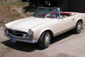 1966 Mercedes-Benz SL-Class 3 Seater