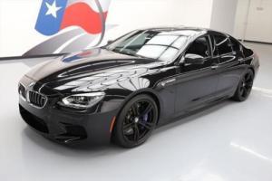 2015 BMW M6 GRAN COUPE SEDAN EXECUTIVE NAV HUD 20'S
