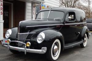 1940 Ford Deluxe Sedan Delivery Sedan Delivery