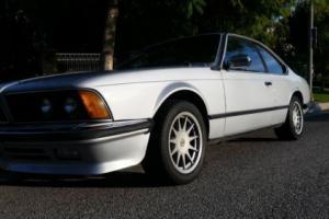 1981 BMW 6-Series