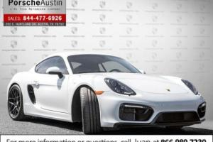 2016 Porsche Cayman 2dr Cpe GTS