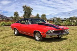 1968 chevelle ss show quality