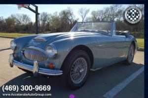 1967 Austin Healey 3000 NUMBERS MATCHING ONLY 44K MILES - ULTRA ORIGINAL HERITA Photo