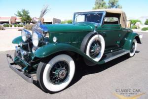 1931 Cadillac 370-A V-12 Convertible Coupe