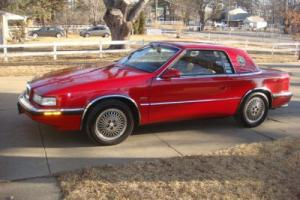 1989 Chrysler TC by Maserati TC by Maserati