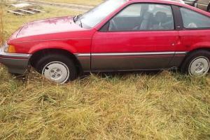 1987 Honda CRX Civic