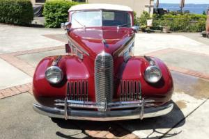 1940 Cadillac LaSalle 5029 4 door convertible