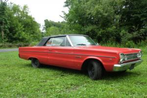 1966 Plymouth Belvedere II Convertible