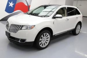 2013 Lincoln MKX CLIMATE LEATHER PANO ROOF NAV 20'S