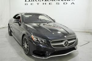 2015 Mercedes-Benz S-Class 2dr Coupe S550 4MATIC