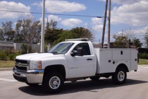 2009 Chevrolet Silverado 3500 Service Utility Body