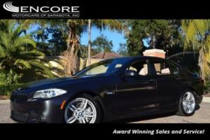 2013 BMW 5-Series 550i Sedan W/Executive  and M-Sport Packages