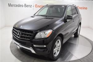 2015 Mercedes-Benz M-Class ML250 BlueTEC