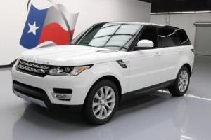 2014 Land Rover Range Rover Sport HSE 4X4 NAV 20'S