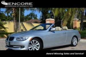 2013 BMW 3-Series 328i Convertible W/Premium Package and Navigation