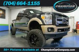 2012 Ford F-250 King Ranch, Navigation, Back Up Camera, 6in Lift