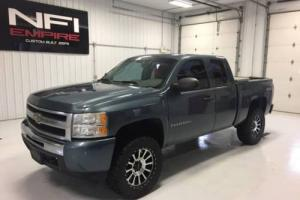2009 Chevrolet Silverado 1500 Work Truck 4x4 4dr Extended Cab 5.8 ft. SB