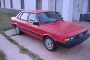 1984 Audi 4000 Quattro Photo