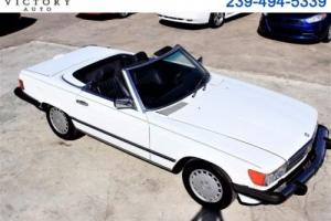 1988 Mercedes-Benz 500-Series SL coupe