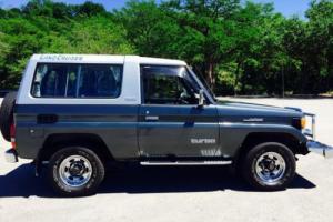 1989 Toyota Land Cruiser LX Turbo Diesel