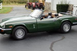 1979 Triumph Spitfire convertible Photo