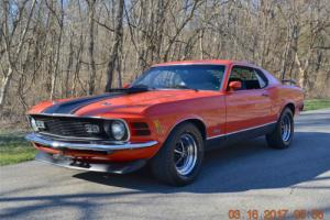 1970 Ford Mustang MACH 1 MACH-1