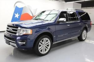 2015 Ford Expedition PLATINUM EL 4X4 SUNROOF NAV