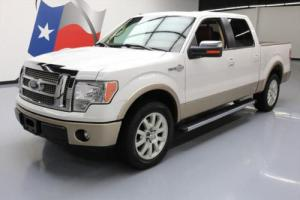 2012 Ford F-150 KING RANCH 5.0 SUNROOF NAV REAR CAM