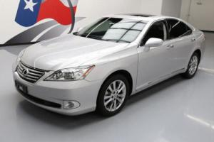2011 Lexus ES 350 SUNROOF VENT LEATHER CHROME WHEELS