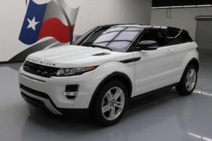 2013 Land Rover Evoque DYNAMIC AWD PANO ROOF NAV