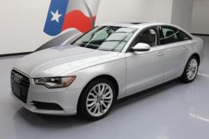 2014 Audi A6 2.0T PREM PLUS AWD LEATHER SUNROOF NAV
