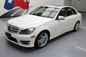 2013 Mercedes-Benz C-Class C250 SPORT SEDAN SUNROOF NAV