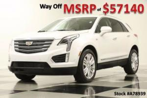 2017 Cadillac SRX XT5 MSRP$57140 Premium Sunroof GPS Crystal White