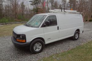 2005 Chevrolet Express 3/4 ton chassis