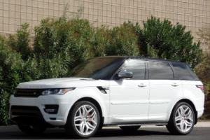 2014 Land Rover Range Rover Sport RANGE ROVER SPORT V8 SUPERCHARGED AUTOBIOGRAPHY