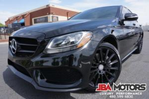 2015 Mercedes-Benz C-Class 2015 C300 Sport Pkg C Class 300 Sedan 4Matic AWD
