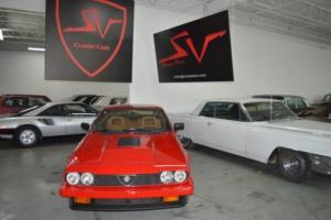1983 Alfa Romeo GTV 6 do not miss on this great deal!