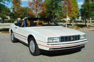 1987 Cadillac Allante Convertible 2-Tops 80K Miles Super Clean! Photo