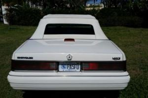 1986 Chrysler LeBaron Photo