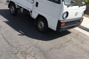 1980 Honda Honda acty ha1 Rhd Kei truck 2wd Jdm