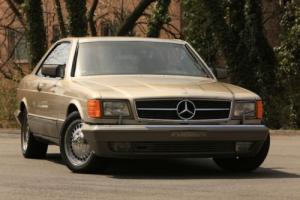 1987 Mercedes-Benz 500-Series 560SEC