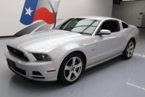 2014 Ford Mustang GT PREMIUM 5.0L 6-SPD LEATHER