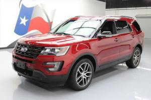 2017 Ford Explorer SPORT AWD ECOBOOST NAV LEATHER