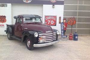 1951 Chevrolet Other Pickups 5 Window 1/2 ton Short Box 1/2 ton