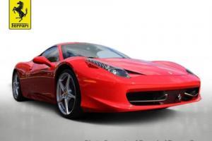 2011 Ferrari 458 2dr Coupe
