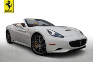 2010 Ferrari California 2dr Convertible