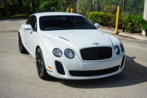 2010 Bentley Continental Supersports 2dr Coupe Supersports