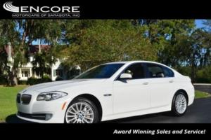 2012 BMW 5-Series 535i Sedan  W/Premium and Technology Packages