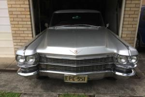 1963 Cadillac Coupe De Ville – Restoration Project - RHD Photo